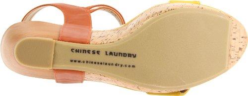 Chinese Laundry  Go Better, Escarpins pour femme Yellow/Orang 40