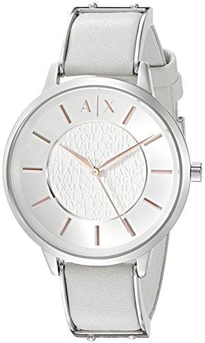 Armani Exchange Women's AX5311 White  Leather - Exchange Armani Sale