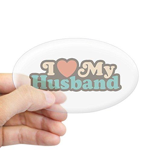 i love my husband bumper sticker - 9