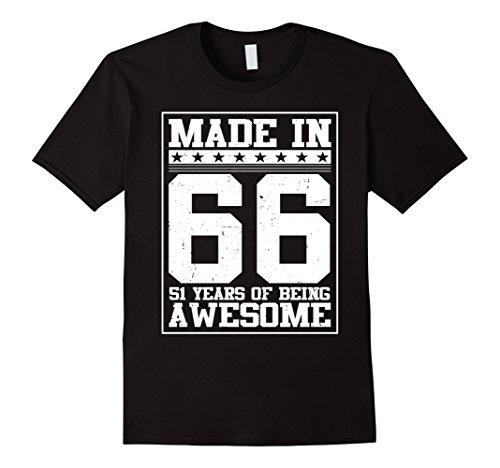 mens-birthday-gift-for-51-years-old-1966-tee-shirt-2xl-black