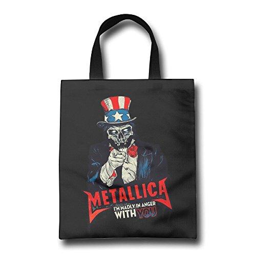 Acosoy Metallica Canvas Tote Bags/Shopping Bags/Beach Bags