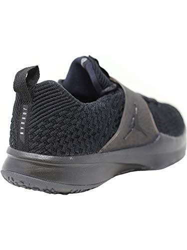 Gymnastics 2 Jordan Zilver Zwart zwart Flyknit Nike Schoenen Trainer metallic zEIWxqEHg