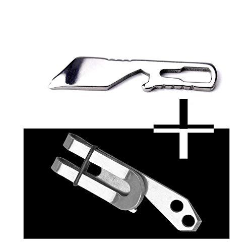 Keychain Multi Tool, 2 Pcs Pocket Screwdriver Mini Pry Bar Tools Small Key Chain Multitool