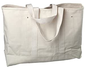 Bon 11-130 Heavy Duty Canvas Tote Bag 28-Inch Long by 6-Inch Wide by 14-Inch Deep