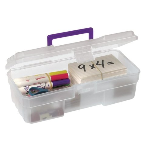 Akro-Mils 09912CLPUR Supply Box 6