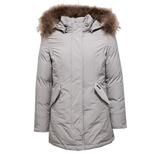 Grigio Light Parka 6393x Luxury Artic Piumino Bimba Girl Jacket Grey Woolrich Ghiaccio Chiaro wfYqgvv