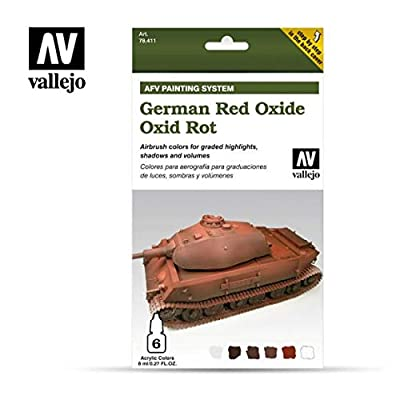 Vallejo AFV German Red Oxide Painting System: Toys & Games