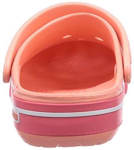 5 Rosa Crocband Unisex coral Adulto Clog melon Zuecos Ii Crocs ExFw0qOvq