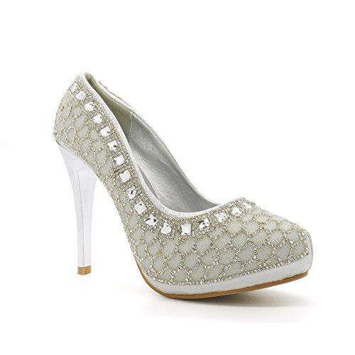 Zeppa Con London Silver Footwear Sandali Donna xRAwt0UqnP