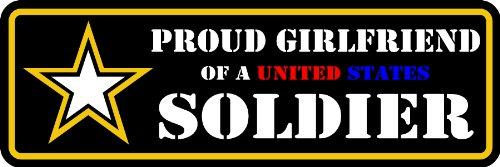 """PROUD GIRLFRIEND OF US ARMY SOLDIER DECAL STICKER 2x6"""" for sale  Delivered anywhere in USA"""
