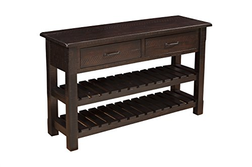 Martin Svensson Home 890248 Sofa – Console Table Espresso
