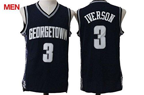 611e3cc78a5 ... Georgetown Hoyas Jerseys Amazon · Mens Georgetown University Hoyas 3  Allen Iverson College Basketball .. Nike ...