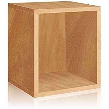Way Basics Eco Stackable Storage Cube Plus And Cubby Organizer, Natural  (made From Sustainable