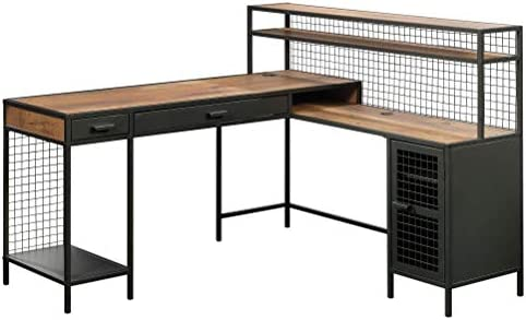 Sauder Boulevard Caf L-Shaped Desk
