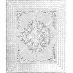 Garden Bouquet in natural - Benartex Quilt Kits