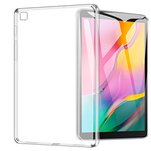 Samsung Galaxy Tab A 10.1 2019 Case, TopACE Ultra Thin Soft Gel TPU Silicone Case Cover Compatible for Samsung Galaxy Tab A 10.1 2019 Release (Matte Clear) (Samsung Galaxy Tablet Gel Case)