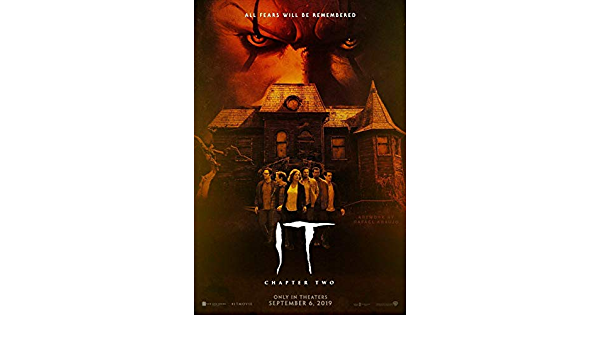 """2019 Movie Silk Poster 11/""""x17/"""" 16/""""x24/""""  Horror Chapter Two It"""