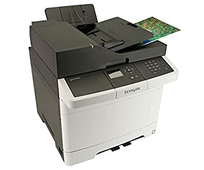 Lexmark CX310DN Laser Multifunction Printer - Color - Copier/Printer/Scanner - 2400 x 600 dpi Print - Duplex Print - Gigabit Ethernet - USB