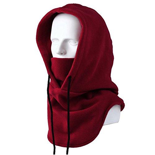 Killer Hooded Masks,AStorePlus Ski Windproof Hat,Winter Warm Fleece Balaclava Hooded Face Mask Neck Warmer Snowboard (Killer Masks)