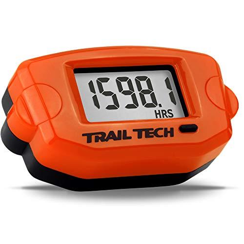 Trail Tech 743-A00 Orange TTO Digital Tach Hour Meter Gauge Surface Mount