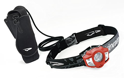 Princeton Tec Apex Extreme LED Headlamp (550 Lumens, Red) by Princeton Tec
