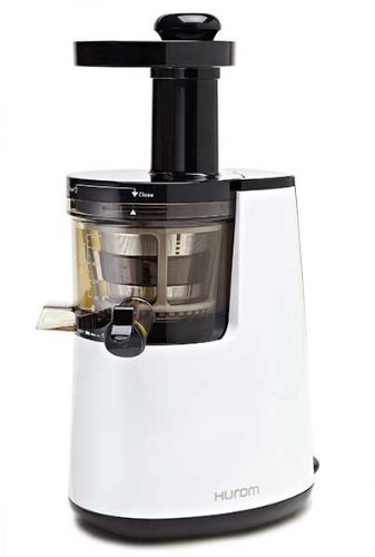 Hurom Premium Slow Juicer Model HU-700 Pearl White with Cookbook