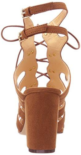Daya Par Zendaya Womens Miles Robe Sandale Cognac