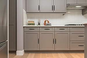 Ravinte 25 Pack 3 Inch Kitchen Cabinet Handles Matte Black Cabinet Pulls Black Drawer Pulls Kitchen Hardware Kitchen Handles For Cabinets Cupboard Handles Drawer Handles Amazon Com