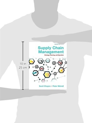 Supply chain management strategy planning and operation amazon supply chain management strategy planning and operation amazon sunil chopra peter meindl 9780133800203 books fandeluxe Images