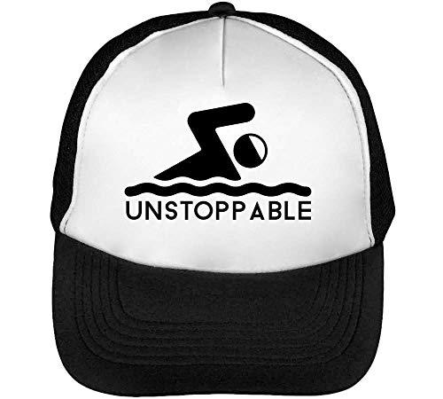 Blanco Beisbol Hombre Unstoppable Swim Negro Gorras Snapback pTFYIq