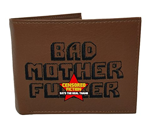 BMF Embroidered Genuine Leather Wallet Premium