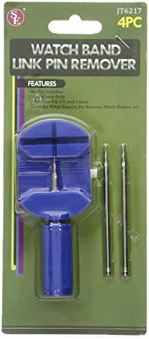 SE JT6217 Watch Band Link Pin Remover Set (4 Piece)