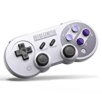MasTechBox Replacement for 8Bitdo SN30 Pro Controller for Windows, Android, macOS, Steam, Nintendo Switch