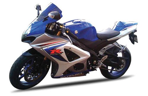 GSX-R1000 08 BLUE SUZ from New Ray Toys
