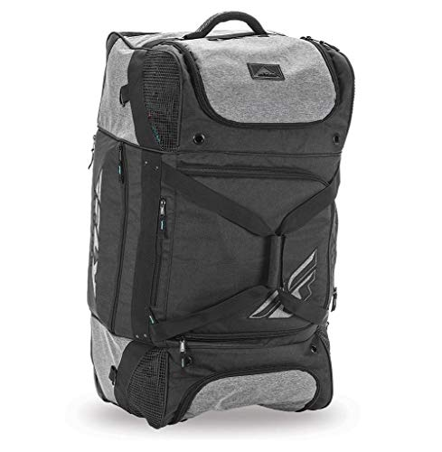 Fly Racing 28-5135 Black/Gray Roller Grande Bag