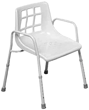NRS Healthcare M48295 Shower Chair - Height Adjustable (Eligible for VAT relief in the UK  sc 1 st  Amazon.co.uk & NRS Healthcare M48295 Shower Chair - Height Adjustable (Eligible for ...