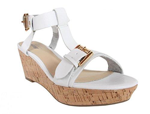 Sandalias de Mujer MTNG 58356 VACHE BLANCO