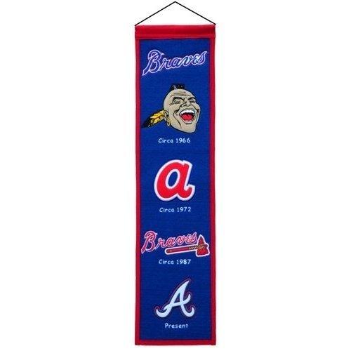 Atlanta Braves Heritage Banner Pennant Atlanta Braves Heritage Banner