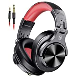 OneOdio Wired Over Ear Headphones, Studio Headphones with SharePort, Professional Adapter-Free Monitor Recording & Mixing Foldable Headphones w/Stereo Sound for Electric Drum Piano Guitar Amp