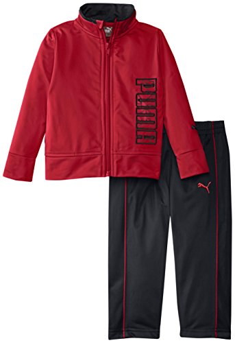 Puma Tricot Pant (PUMA Baby Boys' Tricot Jacket and Pant Set, Scooter Red, 12 Months)