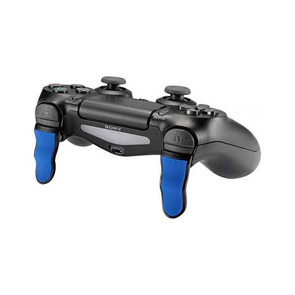 eXtremeRate L2 R2 Buttons Extention Trigger, Soft Touch Grip Extenders, Game Improvement Adjusters for Playstation 4 PS4… 6