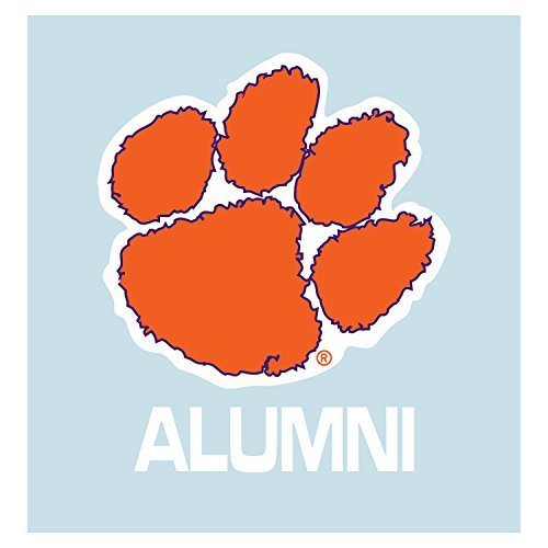 Clemson Tigers Decal ORG PAW ALUMNI DECAL 5