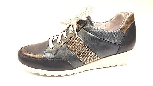 Zapatos Lisa Mujer de Piel Cordones Artika de vW0Onqvd