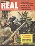 img - for REAL: The Exciting Magazine for Men: August, Aug. 1957 book / textbook / text book