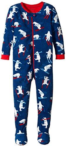 - Hatley Baby Boys' Footed Fleece Coverall, Polar Bears, 3-6 Months