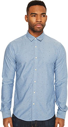 Scotch & Soda Men's Classic Oxford Shirt in Solids Or with All-Over Print, Combo F, XXL (Classic Oxford Oxford Shirt)