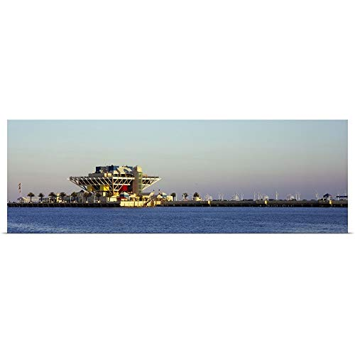 GREATBIGCANVAS Poster Print Entitled Hotel on a pier St. Petersburg Florida by 60