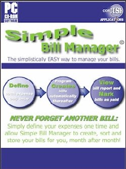 Concise Applications - Simple Bill Manager 1.0