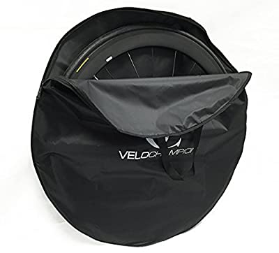 VeloChampion 700c Bicycle Wheel Bag - Black