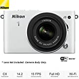 Nikon J3 White Camera Body (27611B) – (Certified Refurbished)